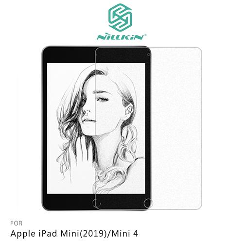 摩比小兔~NILLKIN Apple iPad Mini(2019)/Mini 4 AR 畫紙膜 保護貼 螢幕貼