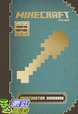 [8美國直購] 暢銷書 Minecraft: Construction Handbook (Updated Edition): An Official Mojang Book