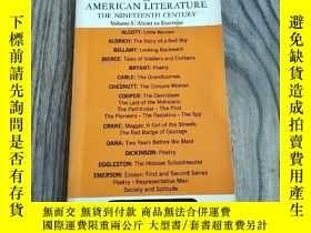 二手書博民逛書店MASTERPLOTS罕見OF AMERICAN LITERATURE:The Nineteenth Centur