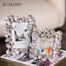 相框 金色銀杏葉歐式創意結婚紗照片復古臥...
