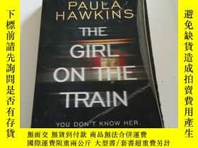 二手書博民逛書店THE罕見GIRL ON THE TRAIN(英文, 不好)Y2