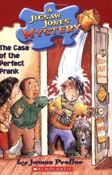 Jigsaw Jones #23: The Case of the Perfect Prank (書+CD)