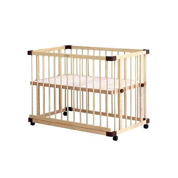 日本 farska 親子共寢多功能嬰兒床(大)(125x75x91cm)(附安心帶)