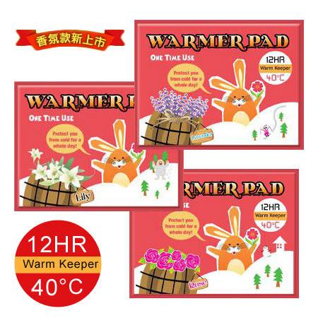韓國 Beloved Co 樂芙蜜 小花兔香味暖暖包 (1片入) 小花兔暖暖包 薰衣草/玫瑰/百合 45g 暖暖包