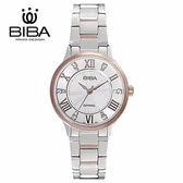 法國 BIBA 碧寶錶 經典系列 藍寶石玻璃 石英錶 B322S105W 白色 - 28mm