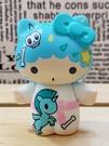 【震撼精品百貨】凱蒂貓_Hello Kitty~日本SANRIO三麗鷗 TKDK限量版擺飾-雙子星KIKI#15291