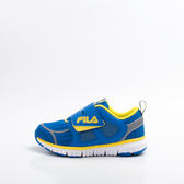 FILA  反光MD 慢跑鞋-藍黃 2-J825R-339