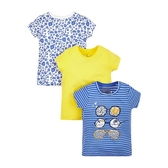 mothercare 3入亮片短袖T恤-佛羅里達(M0H1472)3~8歲、10歲