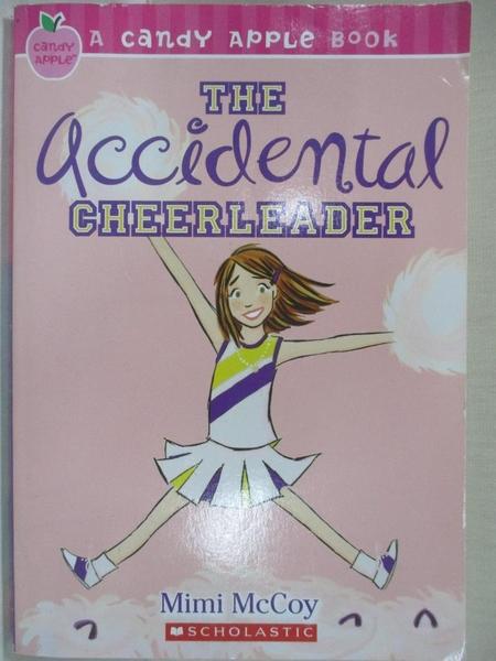 【書寶二手書T5/兒童文學_HM4】The Accidental Cheerleader_Mccu, Frankie