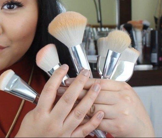 【愛來客 】美國ELF彩 Beautifully Precise Airbrush Stipple 腮紅修容化妝刷