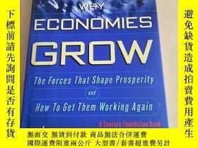二手書博民逛書店Why罕見Economies Grow(英文原版)Y208076