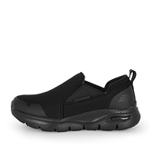 Skechers Arch Fit SR - Tineid [200026WBLK] 男鞋 寬楦 防滑工作鞋 休閒 全黑