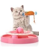 貓玩具愛貓轉盤逗貓玩具寵物貓咪玩具小貓幼貓玩具逗貓棒貓咪用品Mandyc