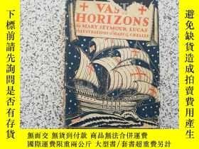 二手書博民逛書店Vast罕見Horizons By Mary Seymour L