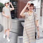 孕婦洋裝夏裝套裝時尚款夏天裙子中長款潮辣媽個性春季洋氣網紅-Ifashion