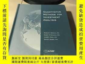 二手書博民逛書店Quantitative罕見Methods for Invest