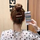 髮夾後腦勺頭飾頭髮夾子韓國碎發頂夾簡約邊夾一字夾少女髮卡