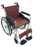 輪椅B款 / 鋁合金輪椅- (標準型大輪好推 雙層座墊)YC-1000