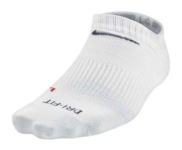Nike 襪子 Dri-Fit Cotton Cushioned Socks 白 踝襪 運動襪 男款【PUMP306】 SX4905-101