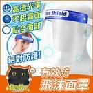 防護面罩 全臉防護 透明面罩 防油濺面罩 面罩 【Z210501】