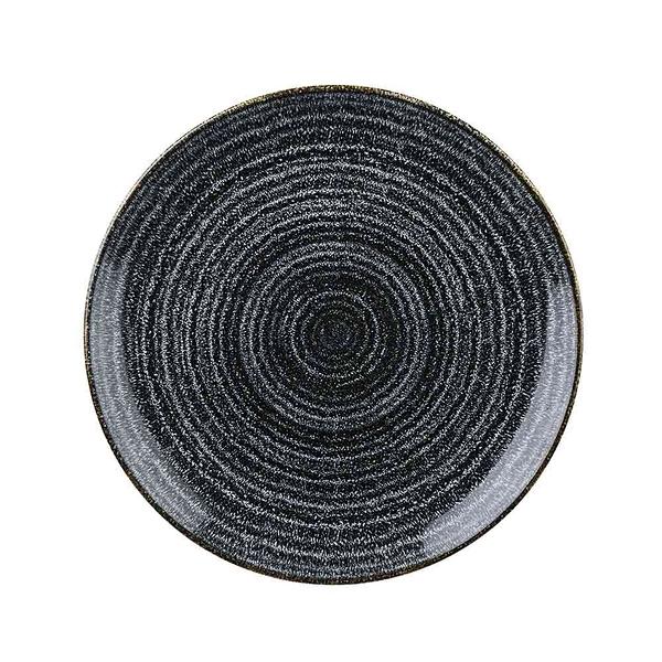 英國Churchill 年輪系列-圓形26cm餐盤(黑)