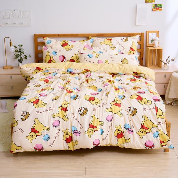 床包被套組 / 雙人加大【甜點馬卡龍】含兩件枕套 100%精梳棉 戀家小舖台灣製AAS312