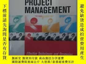 二手書博民逛書店goal罕見directed project managemen