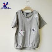 American Bluedeer-星星刺繡T