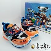 【樂樂童鞋】【台灣製現貨】機器戰士運動燈鞋 MN027 - 現貨 台灣製 男童鞋 運動鞋 休閒鞋 布鞋
