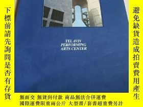 二手書博民逛書店TELAVIV罕見PERFORMING ARTS CENTERY
