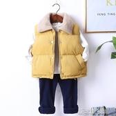 兒童棉馬甲秋冬季加厚背心外穿男童寶寶加絨馬夾女童嬰兒洋氣坎肩 新北購物城