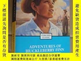 二手書博民逛書店(Enriched罕見Classic) The adventures of Huckleberry Finn (i