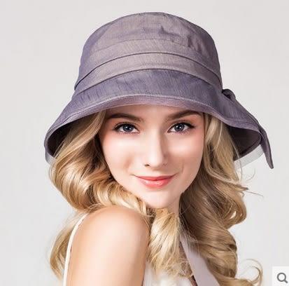 遮陽帽防曬太陽帽可折疊大簷沙灘帽   -charle00565