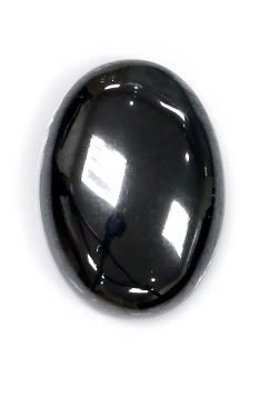[協貿國際]天然南非黑膽石戒面DIY手工飾品配件(5入價)