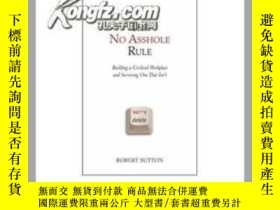 二手書博民逛書店The罕見No Asshole Rule20525 Robert