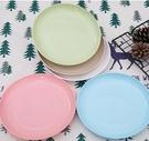 盤子 餐桌小盤子家用吐骨碟彩色圓盤小吃零食盤塑料小碟子垃圾盤渣盤【快速出貨八折下殺】
