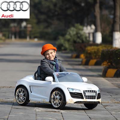 特仕版2.4G Audi R8 搖控電動車 白【台安藥妝】