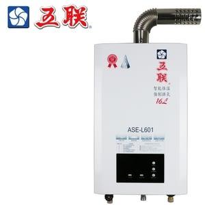 【五聯】ASE-L601 智能恆溫16公升強制排氣熱水器 - 天然瓦斯天然瓦斯