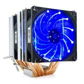 冰曼 6熱管CPU散熱器超靜音1155AMD1150 1151台式電腦CPU風扇2011【聖誕節鉅惠8折】