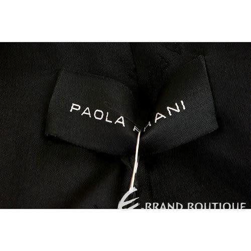 PAOLA FRANI 黑色抓褶西裝外套 1040098-01