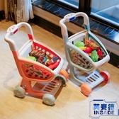 家家酒兒童男女孩玩具購物車套裝超市手推車3-6歲【英賽德3C數碼館】