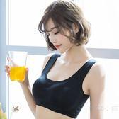 內衣女薄款無鋼圈運動防震跑步聚攏定型防下垂胸罩收副乳無痕文胸
