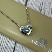 BRAND楓月 GEORG JENSEN 喬治傑生 925 純銀 愛心造型 項鍊 配件 配飾 隨身佩戴