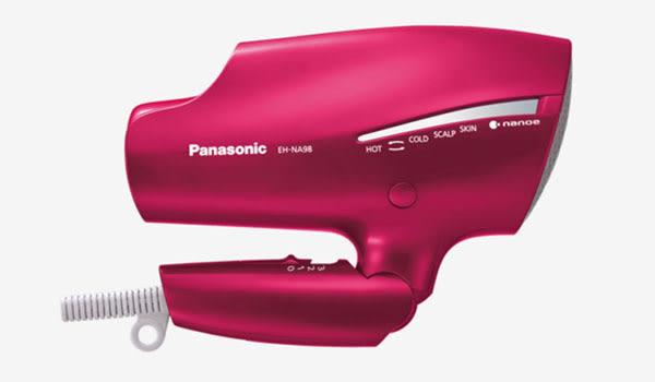《附吹嘴+贈200元超商禮券》Panasonic EH-NA98 / EHNA98 國際牌 奈米水離子吹風機 (全新台灣公司貨)