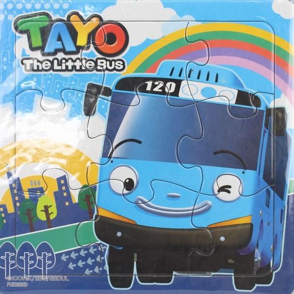 TAYO小巴士拼圖 士耘PUZ0208 9片幼兒拼圖/一個入{特50}可愛拼圖 MIT製~正版授權