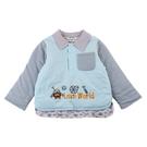 【愛的世界】純棉鋪棉兩面穿上衣/4~6歲-台灣製- - ---秋冬上著