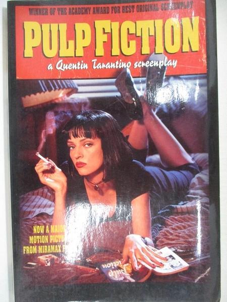 【書寶二手書T8/原文小說_KJ2】Pulp Fiction: A Quentin Tarantino Screenplay_Tarantino, Quentin