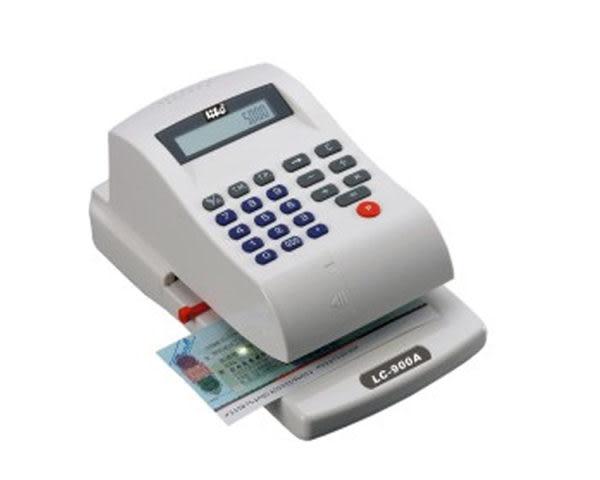 數位光電支票機 附電子計算機 自動夾紙 可選擇大寫中文 或 數字式 辦公文具處理帳務 滿額折扣