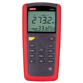 泰菱電子◆K/J/T/E 數位溫度計 溫度記錄器㊣台灣總代理UNI-T優利德UT-321 TECPEL
