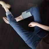 春秋2017顯瘦直筒牛仔褲女春裝2018新款韓版寬鬆ins超火的褲子女gogo購
